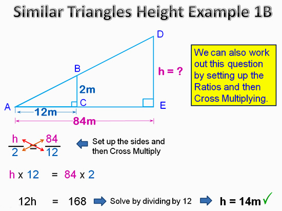 Similar Triangles Applications 11