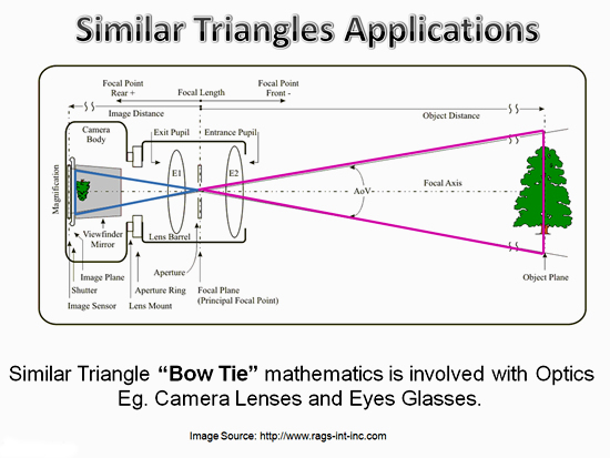 Similar Triangles Applications 4