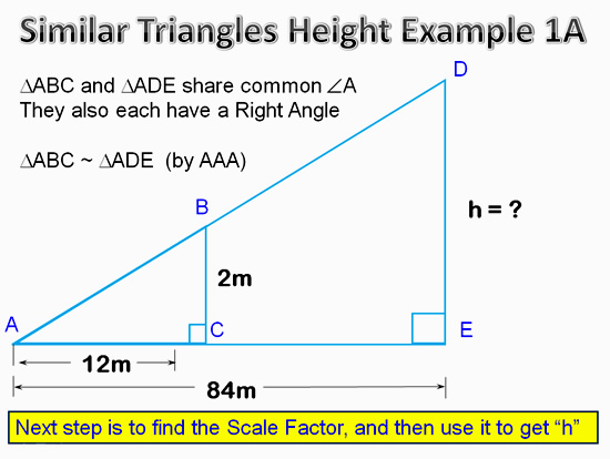 Similar Triangles Applications 9