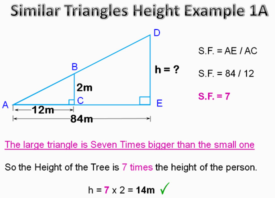 Similar Triangles Applications 10