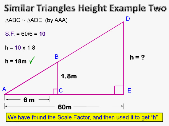 Similar Triangles Applications 13