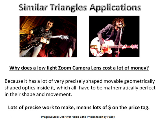 Similar Triangles Applications 3