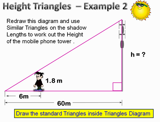 Similar Triangles Applications 12