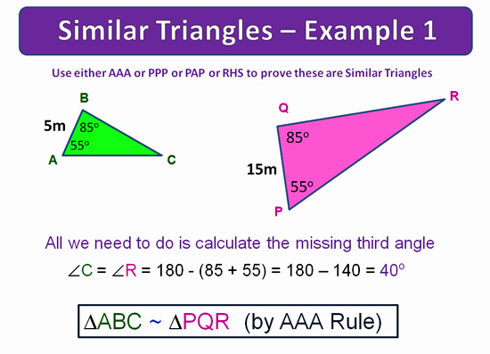 Similar Triangles 18