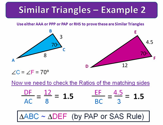 Similar Triangles 19