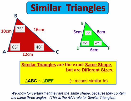 Similar Triangles 07