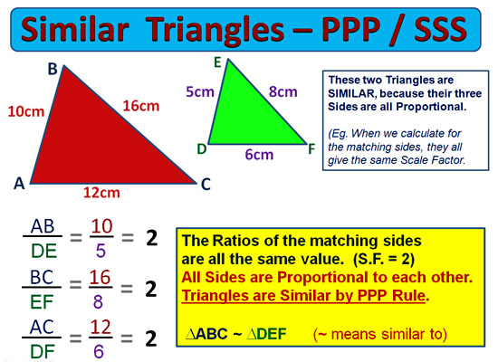 Similar Triangles 10