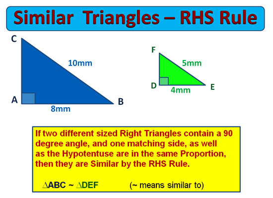 Similar Triangles 12