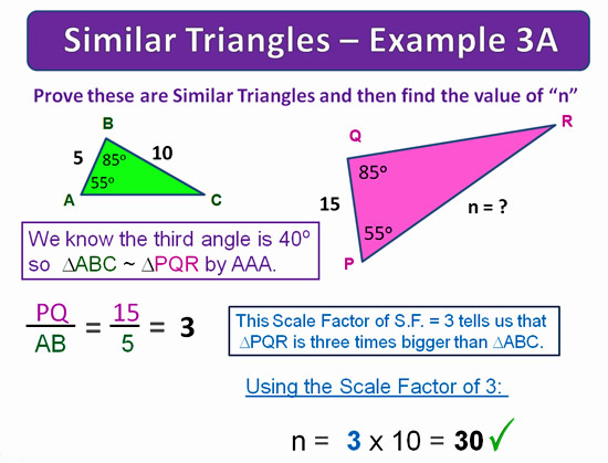 Similar Triangles 20
