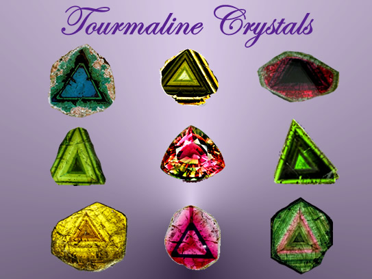 Triangles in Tourmaline