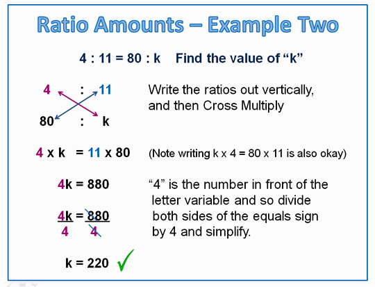 Math Ratios and Proportion 6