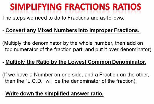 Math Ratios 9