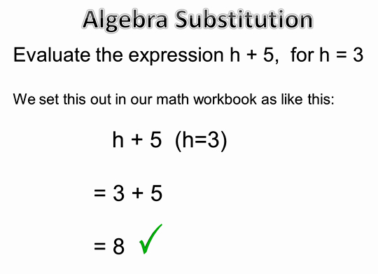 math worksheet : algebra substitution  positive numbers  passy s world of mathematics : Math Substitution Worksheet