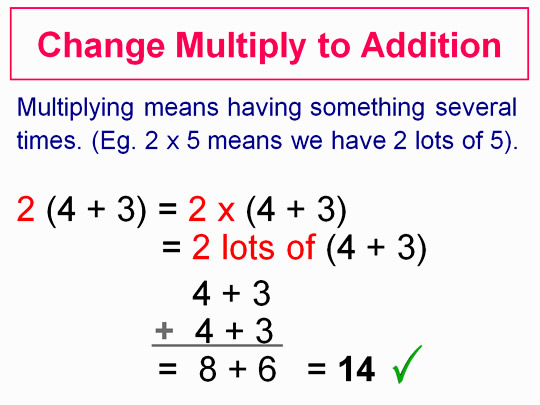 Distributive Property Five