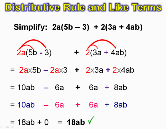 Distributive Property 16