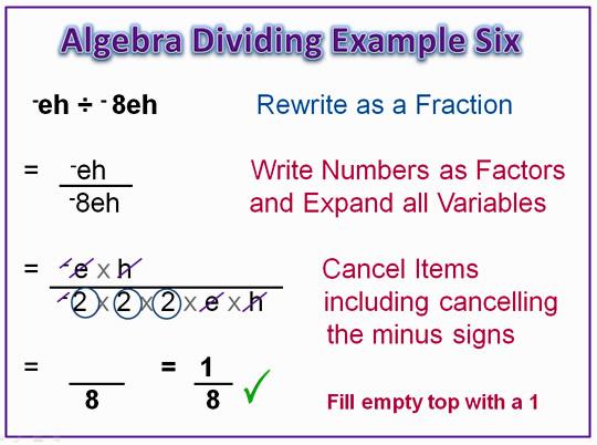 Algebra Dividing 9