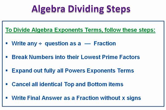 Algebra Dividing 5