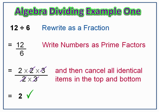 Algebra Dividing 3