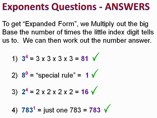 Exponents 12
