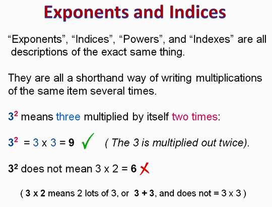 Exponents 2