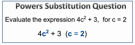 Exponents Substitution 1