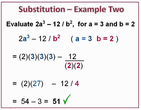 Exponents Substitution 7