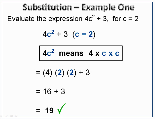 Exponents Substitution 6