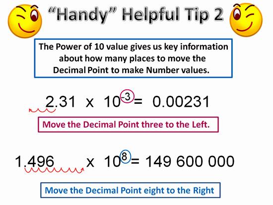 scientific notation  passy's world of mathematics