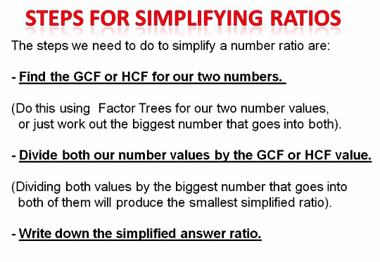 Collection of Simplifying Ratios Worksheet - Sharebrowse